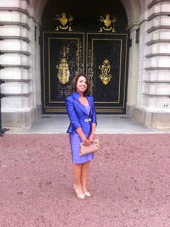 Louise Butt at Buckingham Palace